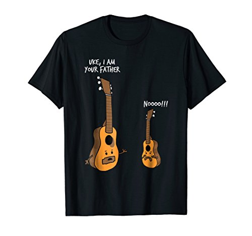 Uke I Am Your Father Funny Ukelele Funny Guitar Lover Tshirt