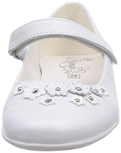 Primigi SHAULA Mädchen Geschlossene Ballerinas Weiß (BIANCO)