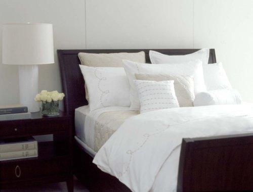 Barbara Barry Dream Pearls 100% Supima Cotton Sateen Queen Duvet (Beds Barry Barbara)