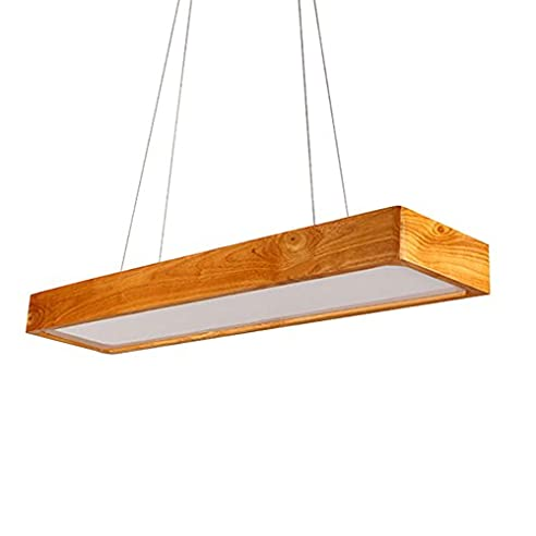 Wcui Led Bar Kronleuchter, Creative Woody Büro Kronleuchter Restaurant Bar  Wohnzimmer Esstisch Lampen 92 *
