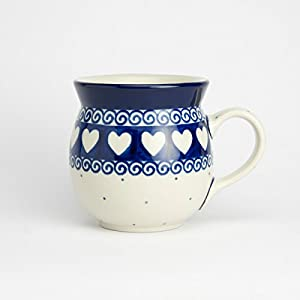 Polish Pottery Lady Mug – Light Hearted