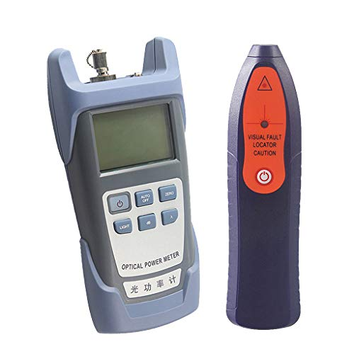 SM SunniMix -70dBm~+10dBm 850~1625nm Optical Power Meter Tester FC SC Handheld Optical Power Meter + with 30mW Visual Fault Locator Pen Tools by SM SunniMix (Image #9)