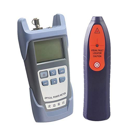 SM SunniMix A Set -70dBm~+10dBm 850~1625nm Optical Power Meter Tester FC SC Handheld Optical Power Meter + 1mW Visual Fault Locator Pen by SM SunniMix (Image #9)