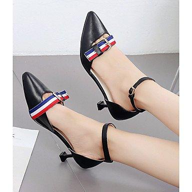 Light US5 Flat Dress Mary Soles Buckle 5 5 UK3 White Women'S Summer Black CN35 Casual Mary Walking Light EU36 Flat Pu Soles Sandals Heel U0qSxvw4