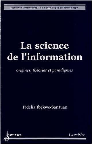 Livres gratuits La science de l'information pdf, epub
