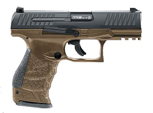 (T4E Walther PPQ M2 .43 Caliber Paintball Pistol TAN (DEB))