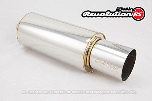GReddy 11001125 Revolution Universal Muffler, (Universal Greddy Type)