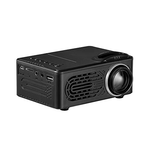 (DDKK 600 Lumens HD 1080P LED Multimedia LED Projector Home Theater Cinema VGA HDMI USB SD Ship from USA Directly)