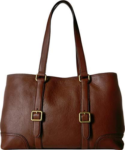- Frye Women's Lily Tote Dark Brown Nappa One Size