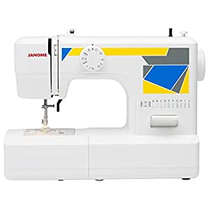 Janome MOD-11 Easy-to-Use Sewing Machine with 11 Stitches, and 5-Piece Feed Dogs