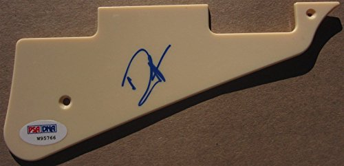 Marcus Mumford signed Guitar Pick Guard Pickguard Psa/dna auto Mumford and Sons