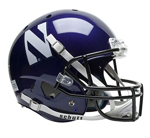 NCAA Northwestern Wildcats Replica XP - Northwestern Helmet Wildcats Mini Authentic