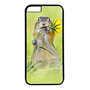 DIY iPhone 6 Case Cover Custom Phone Shell Skin For iPhone 6 With Naughty Squirrel wangjiang maoyi