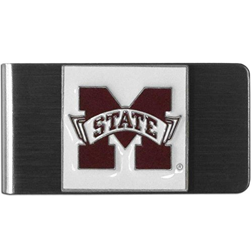 Siskiyou Sports CMCL45 College Large Money Clip - Mississippi State Bulldogs