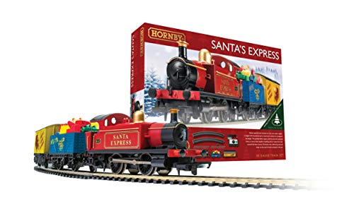 Hornby Santa's Express Christmas Toy Train Set R1248 (Hornby Steam Train)