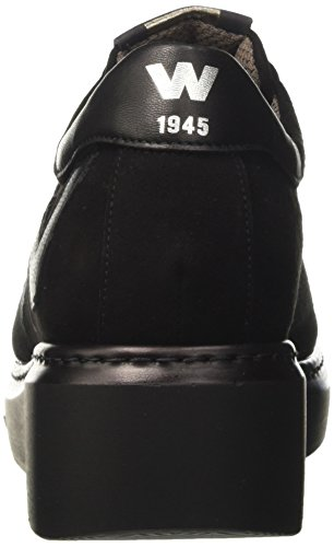 Melluso R25402, Women's Low Trainers Black (Nero Renna-nero)