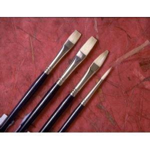 12 Pack CHINESE BRISTLE FILBERT BRUSH Drafting, Engineering, Art (General Catalog) by Princeton