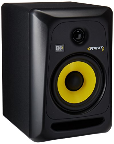 KRK RP6G3-NA Rokit 6 Generation 3 Powered Studio Monitor by KRK