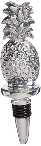 Mariposa Pineapple - MARIPOSA Pineapple Bottle Stopper, Silver