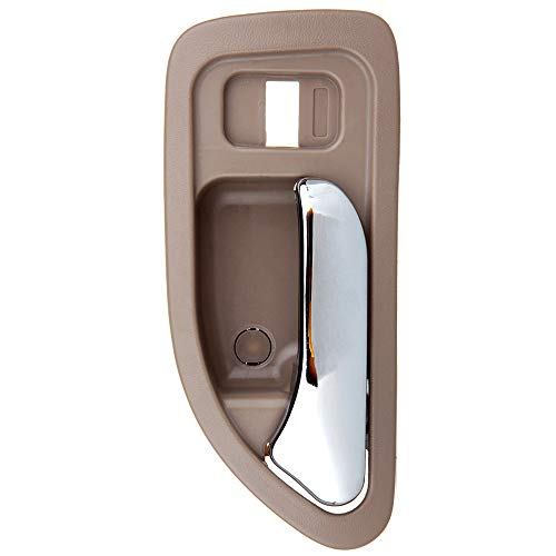 Wagon Fit Honda (OCPTY Door Handle Interior Front Driver Left Side Replacement fit 1994-1997 Honda Accord Inside Door Handle Beige)