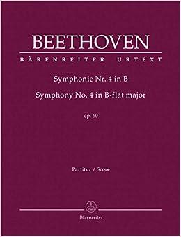 ベートーヴェン: 交響曲 第4番 変ロ長調 Op.60/原典版/デル・マー編/ベーレンライター社: 指揮者用大型スコア