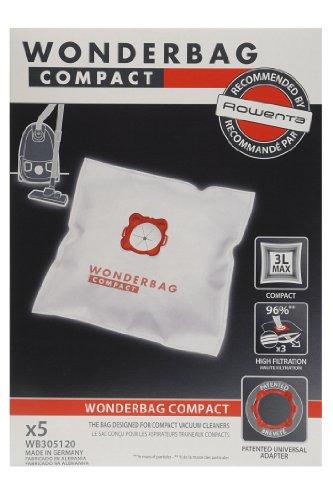 - Vacuum Cleaner Bag - Wonderbag Compact x 5 ()