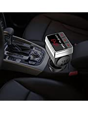 Auto Handsfree Speler, ABS BT10 Auto FM Transmitter MP3 Handsfree Bluetooth Muziekspeler Sigarettenaansteker Adapter