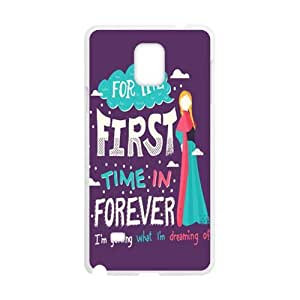 Happy Frozen representative song Cell Phone Case for Samsung Galaxy Note4