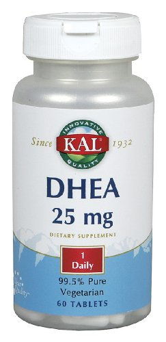 KAL - Dhea, 25 mg, 60 tablites