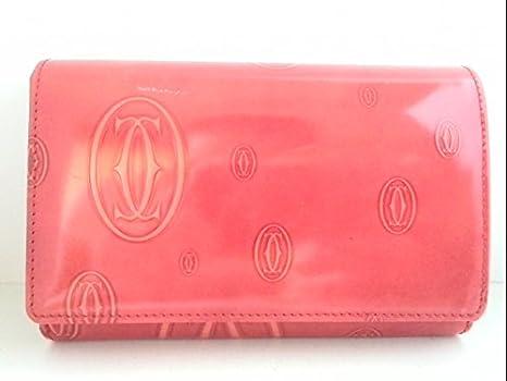 d11828f1765c Amazon.co.jp: (カルティエ) Cartier 2つ折り財布 ハッピーバースデー ...