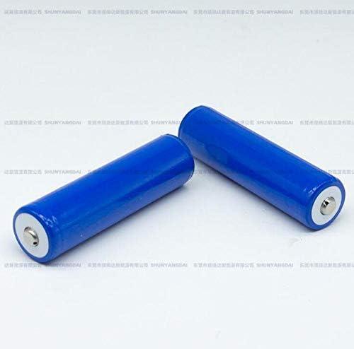10pcs 18650 lithium battery 2200mah 3.7v rechargeable flashlight battery