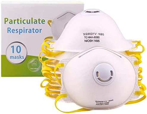 Particulate N95 Particle Respirator With - Valve Mask Dust