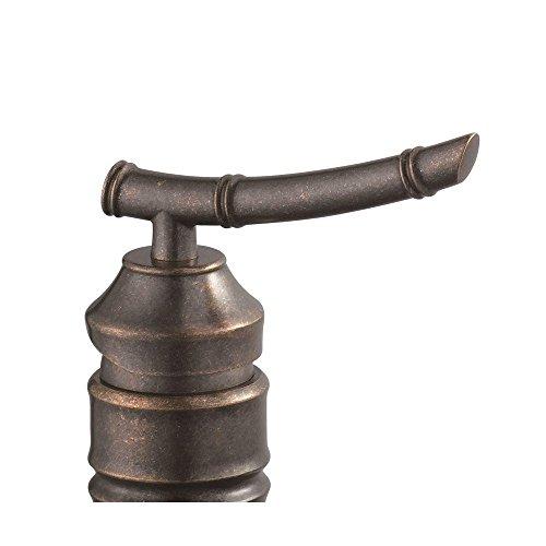 Pegasus 67109W-7096H Bamboo Single Hole 1-Handle Vessel Faucet Heritage Bronze (Bamboo Single Handle)