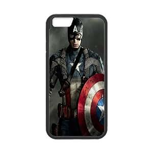 DIY Stylish Printing Captain America Cover Custom Case For iPhone 6 4.7 Inch MK1Q702902