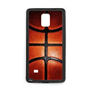 Basketball Sport Plastic and TPU Case Cover for Samsung Galaxy Note 4 (Laser Technology)