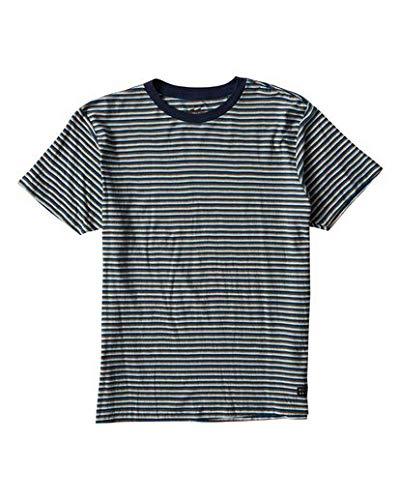 (Billabong Men's Die Cut Stp Short Sleeve Crew Shirt Dark Blue Medium)