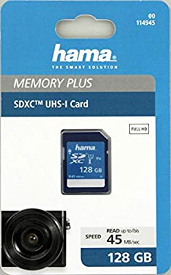 Hama 128Gb SDXC Memoria Flash Clase 10 - Tarjeta de Memoria (128 ...