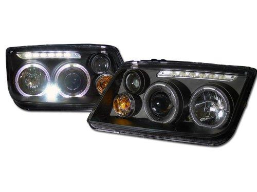vw bora projector fog lights - 4