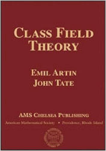 Amazon com: Class Field Theory (AMS Chelsea Publishing