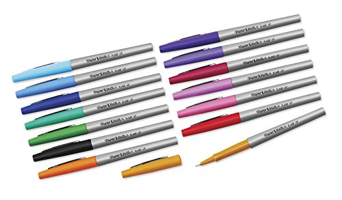 Paper Mate Flair Felt Tip Pens, Ultra Fine Point, Limited Edition Candy Pop Pack, Box of 36(Packaging may vary) by Paper Mate (Image #1)