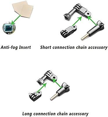 SNT® Cámara Kit de accesorios para GoPro Hero 4/3 +/3/2/1/sj4000 ...