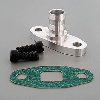 Billet Turbo Oil Return Fitting Precision Turbo T3 T3//T4 T04 T4 To4 GT40R GT42R