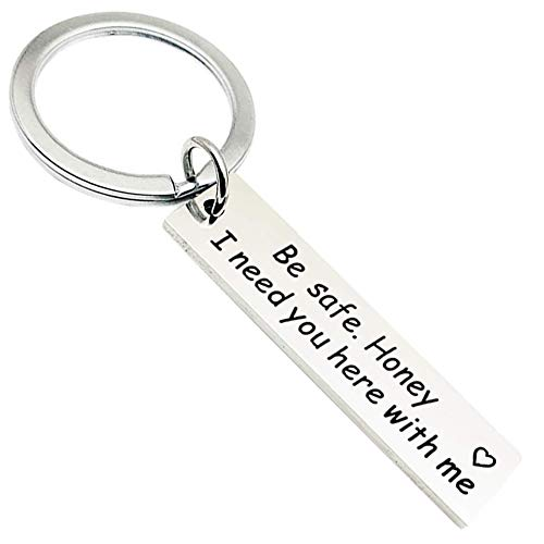 Runalp Drive Safe Keychain, I Need You here with me, Style 6