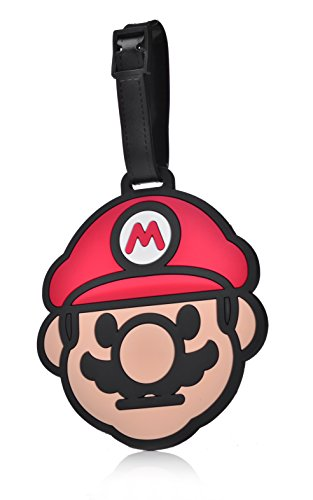 REINDEAR Heavy Duty Super Mario Baggage Luggage Tag