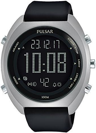 Pulsar Reloj Digital para Hombre de Cuarzo con Correa en Silicona P5A019X1