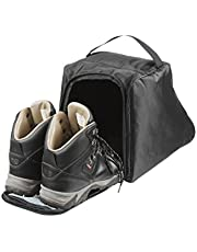Case4Life Black Water Resistant Walking Hiking Boot Bag/Case