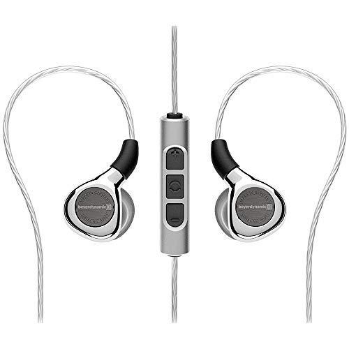 beyerdynamic Xelento Wireless Audiophile Tesla in-Ear Headset with Bluetooth Connection, Silver (Beyerdynamic Headphones Bluetooth)