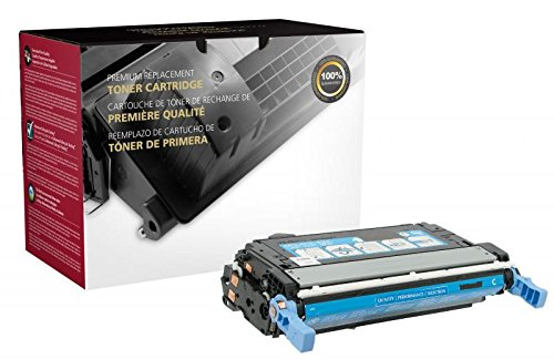 Fine Line Printing Compatible Toner Cartridge Replacement for HP 643A ( Cyan)