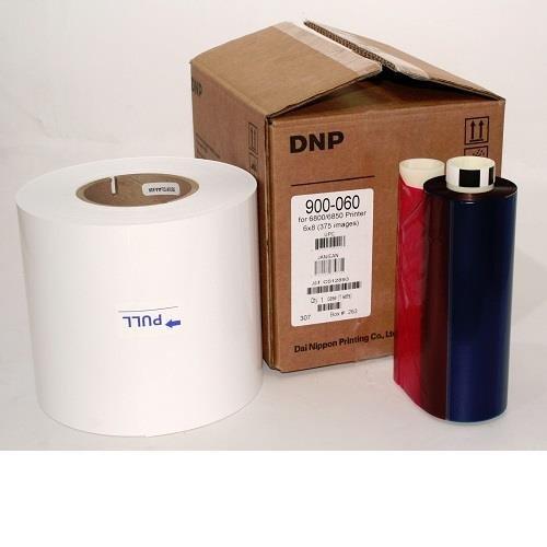 DNP 6x8'' Compatible Media for Kodak 6800/6850 Printers, 1 Roll, 375 Prints