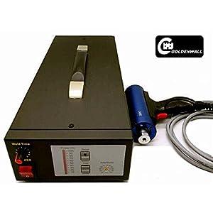 1000W Ultrasonic Spot Welder Ultrasonic Generator Cabinet With Transducer and welder head for Plastic Spot Welding machine DEX-3510X (220V,40KHZ)